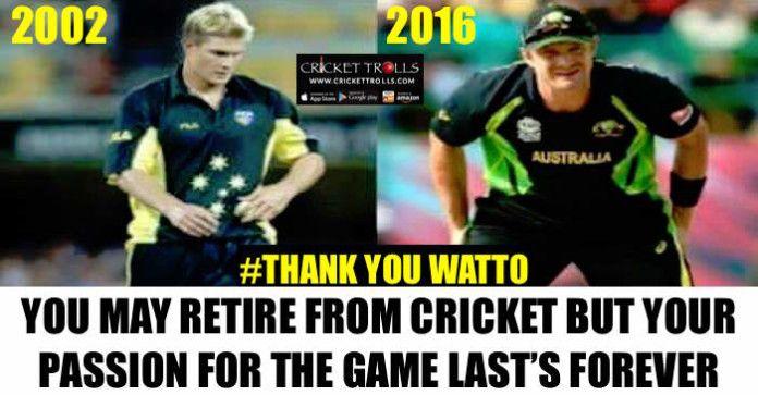 #WT20 #INDvsAUS #ShaneWatson #Watto #ICCT20WC  Shane Watson to retire from International Cricket after  World T20 2016  http://www.crickettrolls.com/2016/03/24/shane-watson-to-retire-from-international-cricket-after-wt20-2016/
