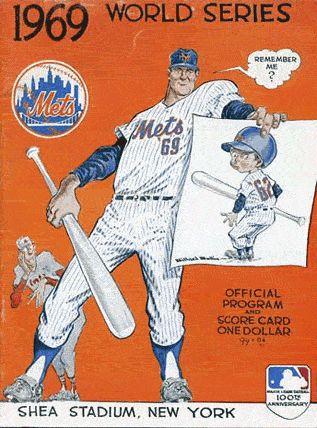 1969 World Series Program - New York Mets