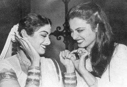 Sridevi and Rekha.