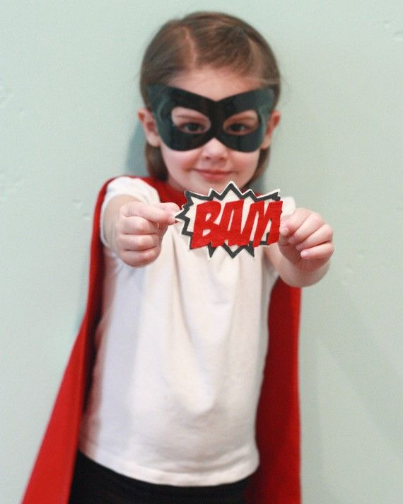 super hero. Maybe beginning and end of year pictures