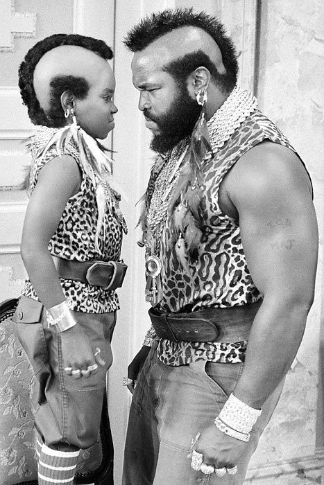 "Gary Coleman and Mr. T - ""I pity the fool..."""