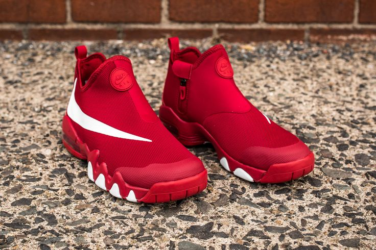 """Nike Big Swoosh – Gym Red/White-Black ($120) Available now, in-store only, at our Teaneck location. Email/iMessage orders will be accepted (packerstore@icloud.com) [gallery type=""""rectan…"""