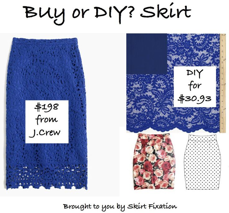 Buy or DIY - Skirt!  This series shows you how you can save a lot of $$$ by making your own knockoff of name brand skirts.
