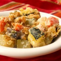 Zucchini Casserole II Allrecipes.com: Zucchini Casseroles, Green Beans Casseroles, Sour Cream, Mushrooms Soups, Soups Recipes, Zucchini Recipes, Casseroles Ii, Allrecipes Com, Ii Recipes
