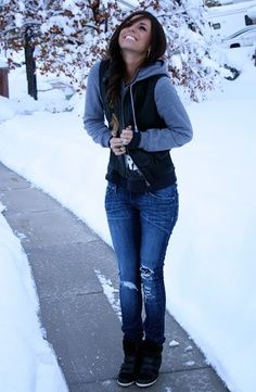Not a big fan of snow, but I like the outfit