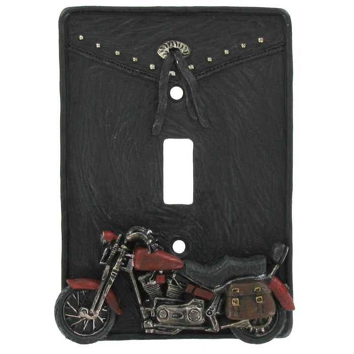 Motorcycle Single Switch Plate