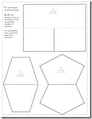 lapbook template - Cerca con Google