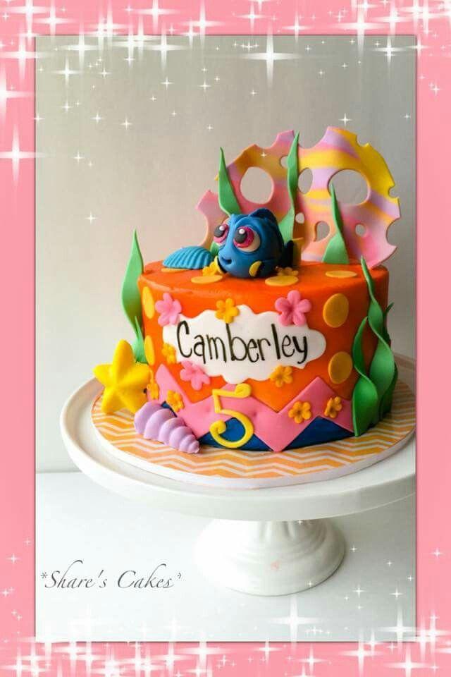 54 best Disneys Finding Dory Cakes images on Pinterest Dory