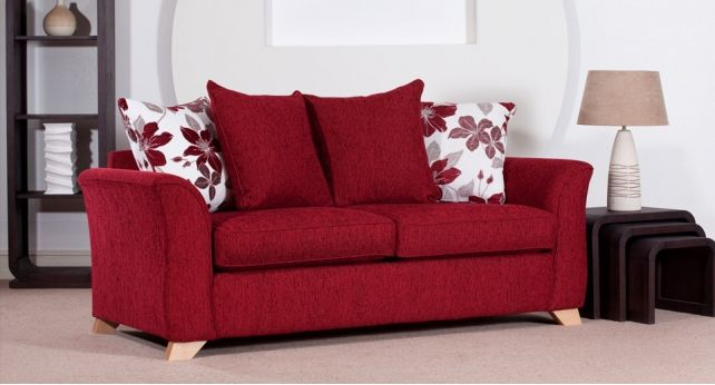 Red settee