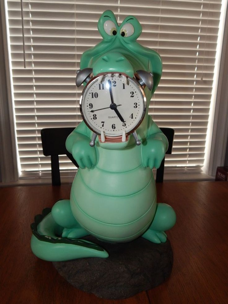 Disney Big Fig Figure Tic Toc Crocodile Peter Pan Statue