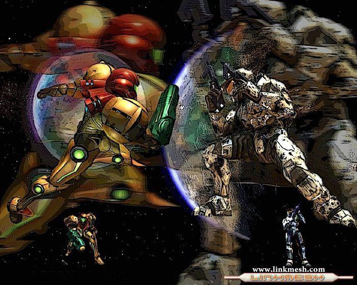 halo vs metroid | Halo Vs. Metroid - la serie de videojuegos - HALO