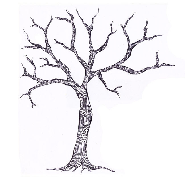 haunted+tree.jpg (image) | Cards and Stuff | Pinterest ...