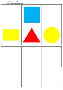 * Logiblokken vele oefenkaarten! voorbeeld 1