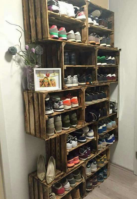 Mud room organization