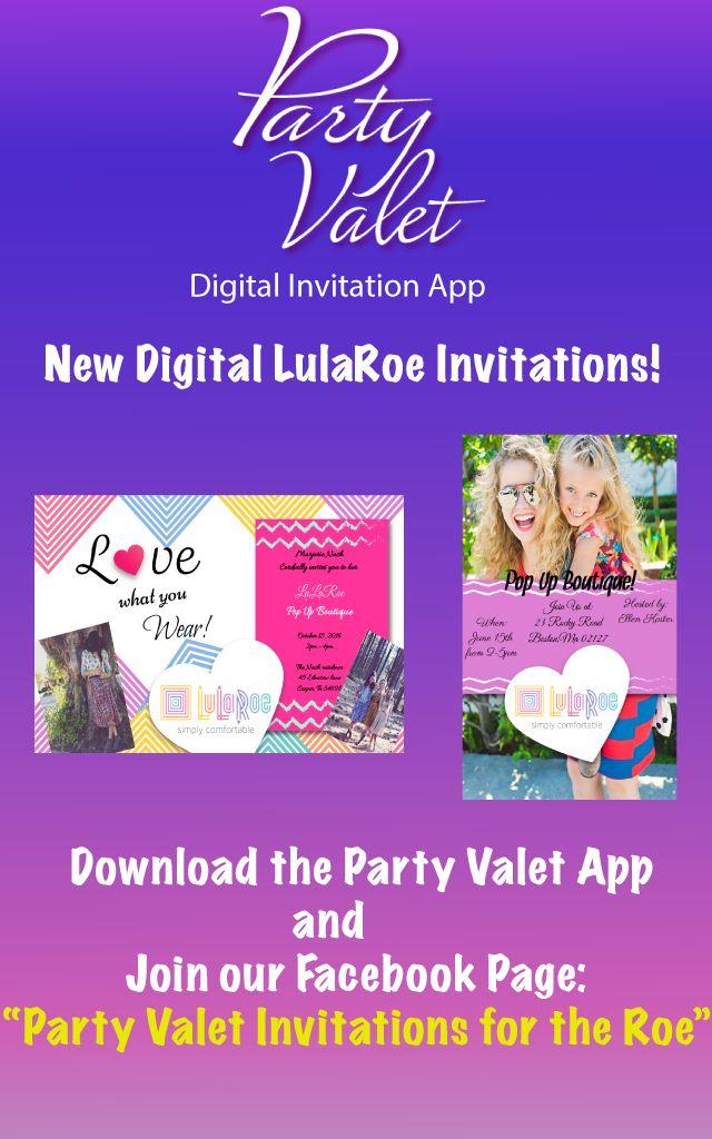 17 best LulaRoe Digital Invitations images on Pinterest | Digital ...