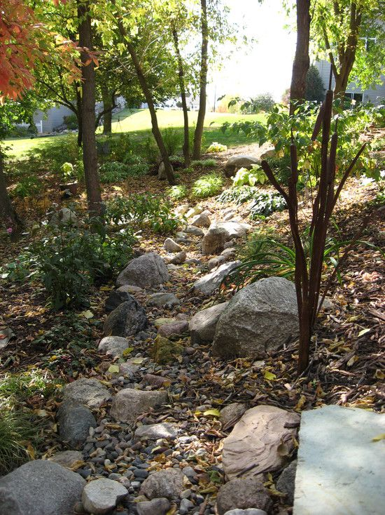 Spaces Dry Rock Creek Beds Design, Pictures, Remodel, Decor and Ideas - page 43