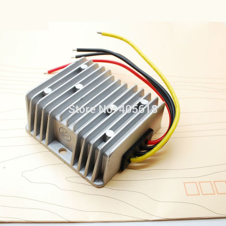 48v To 12v Converter Wiring Diagram: 5A/60W High Efficiency Voltage DC Converter Regulator 36v