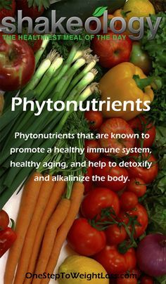 What's in Shakeology? Phytonutrients is one nutrient group in Shakeology http://www.shakeology.com/daniela03