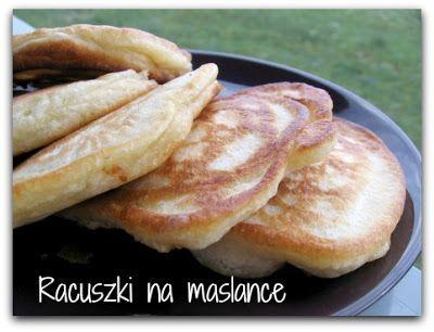 Kuchnia z jadalnią: Racuszki na maślance