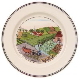 Villeroy & Boch Design Naif Appetizer/Dessert Plate #4 Plowing 6 3/4 in-20
