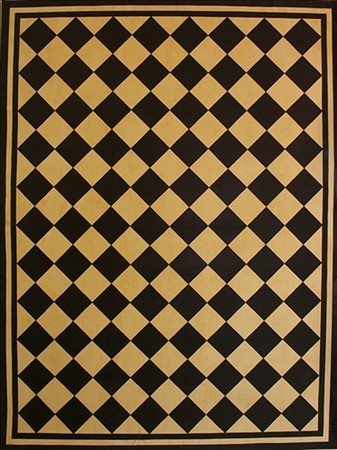 Early American Floorcloths Thinking Of Making A Painted Canvas Floor Cloth For Outside Patio