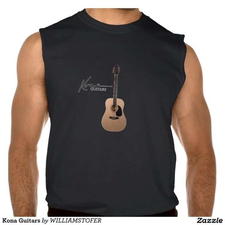 Kona Guitars Sleeveless Tee