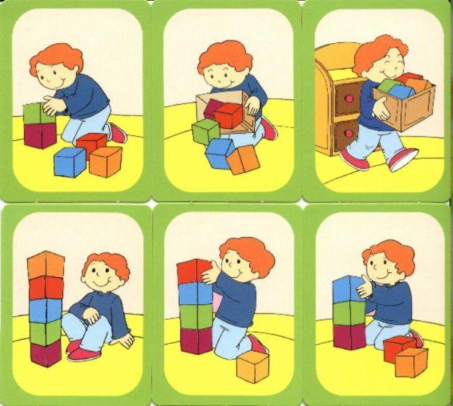 Картинки последовательные логические детям