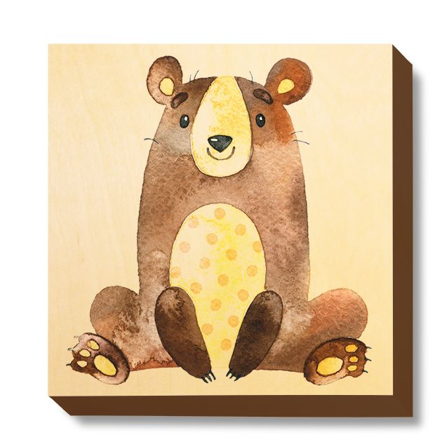 CHI 067 Children's Art - Watercolour Bear