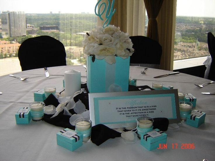 ... wedding decorations, Teal wedding centerpieces and Teal centerpieces