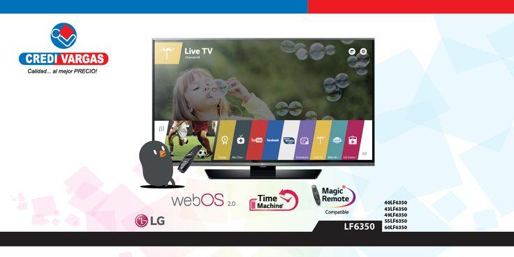 Webos 2.0 Tienda LG Control Magic Remote Smartshare Tipo de pantalla: LED Full HD Wifi incorporado