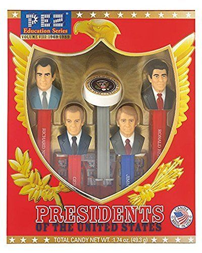 Presidents of The United States Volume 8  Pez Limited Edition Collectible Gift Set Nixon Ford Carter  Reagan by Pez Candy *** Read more  at the image link.Note:It is affiliate link to Amazon.