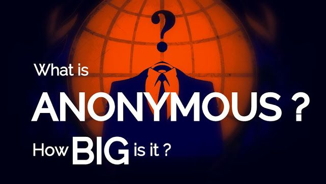 Anonymous is a decentralized hacktivist group that has been into existence since 2003. It is hard to predict the actual size of the group as most of its activities are not commenced in the daylight. Yevgeny Golovchenko a research student at the University of Copenhagen did make his efforts to approximate the number of members in the group.  Anonymous a self-declared collective that has been associated with taking down government websites andfighting ISIS. This question  how big is Anonymous?…