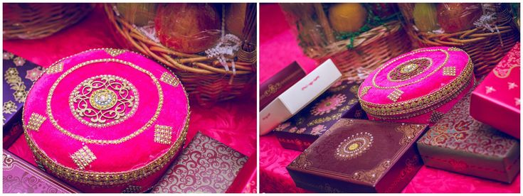 """""""Mameru"""" This is a ceremony in which the groom's uncle give sweets and presents wrapped in fancy colored boxes to the bride. This ceremony takes place a day before the wedding. Mama is the groom's mother's brother. He goes to the bride's house and gives her with gifts of sweets, saree, marriage bangles, jewelry, etc."""