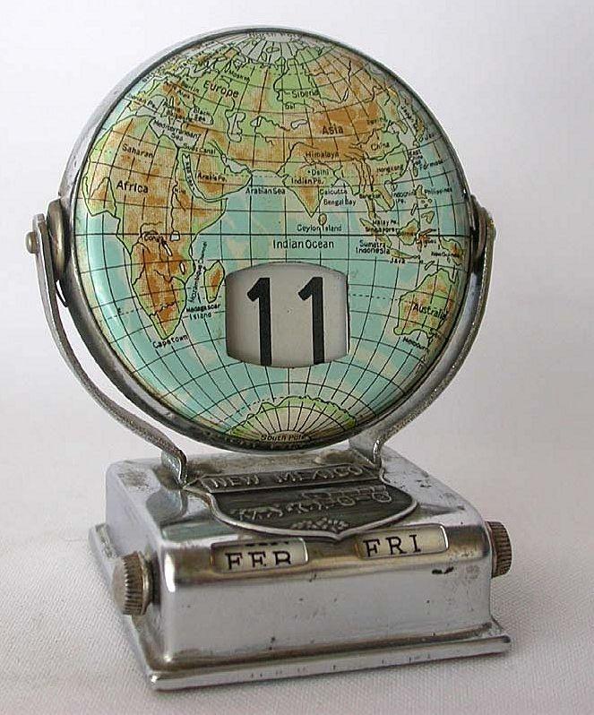 Vintage NEW MEXICO Souvenir Perpetual Flip Calendar