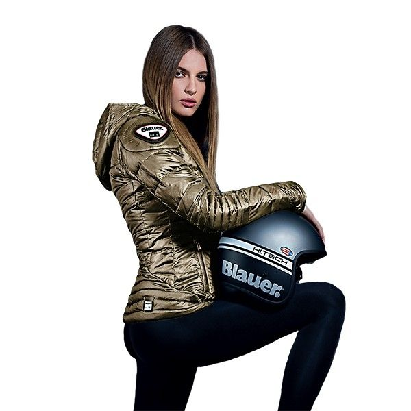 The Blauer Winter Woman despite being new to the world of two wheels presents itself as a brand that has come to stay with technical solutions in nothing common in motorcyclist's brands.  #Blauer #EasyWinter #Motorcycle #Motociclismo #Casaco #Jacket