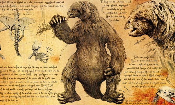 Ground Sloth | Ice Age Giants