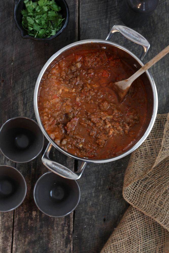 Ultimate Beef & Liver Chili | Mommypotamus