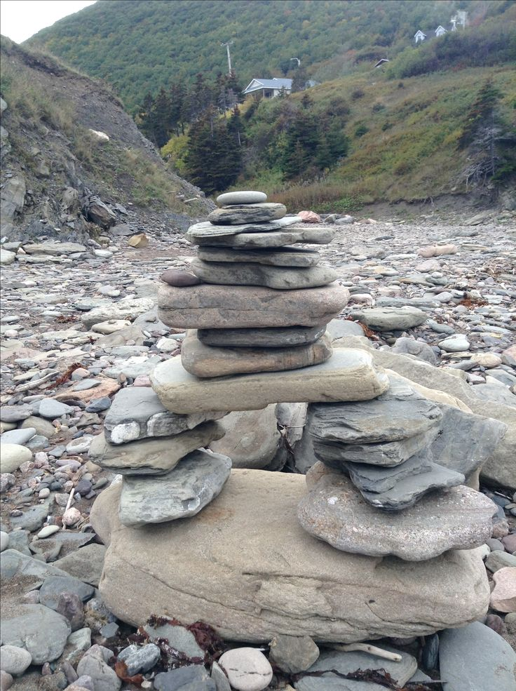 Inukshuk at Meat Cove