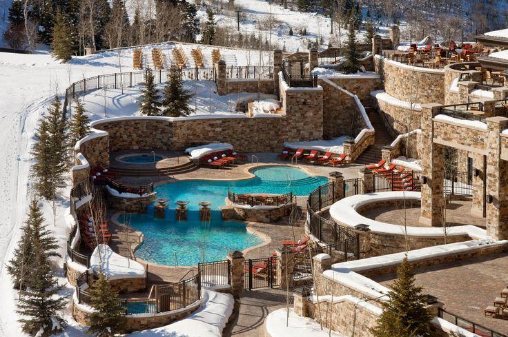 Dreamy ski vacation. St. Regis Deer Valley; Park City, Utah | AAA Five Diamond Hotel