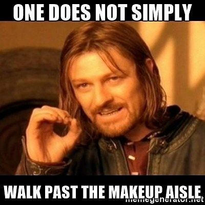 One does not simply walk past the makeup aisle...https://goo.gl/PLQw5p    went to the drugstore for a couple items, came out with 3 new nail polish and a mascara...#makeupaddict    #dec #dollareyelashclub mua #yegmua #yycmua #bbloggers #beautybloggers #makeupartist #memes #beauty #