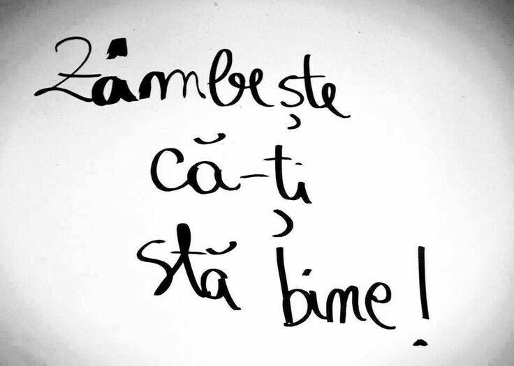 Zâmbeşte! #romaneste