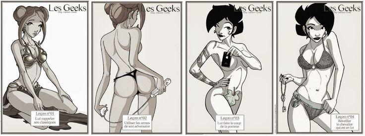 [Pop/Art] Les leçons d'Aubade lingerie version Geek   level40.fr