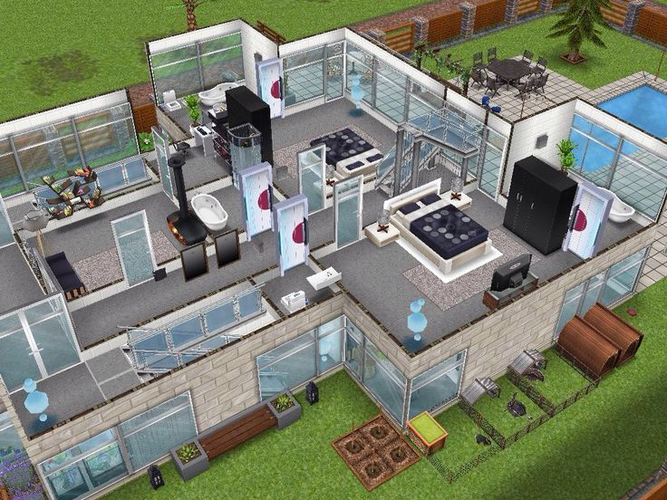 176 Best The Sims Freeplay House Designs Images On