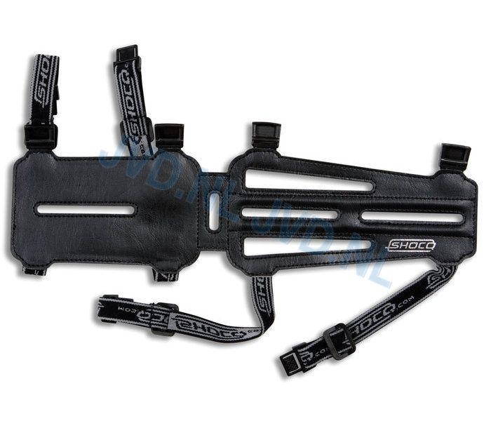 Łuki i strzały Lazecky | produkcja i sprzedaż - Ochraniacze przedramienia : Ochraniacze przedramienia długo SHOCQ SENIOR BLACK