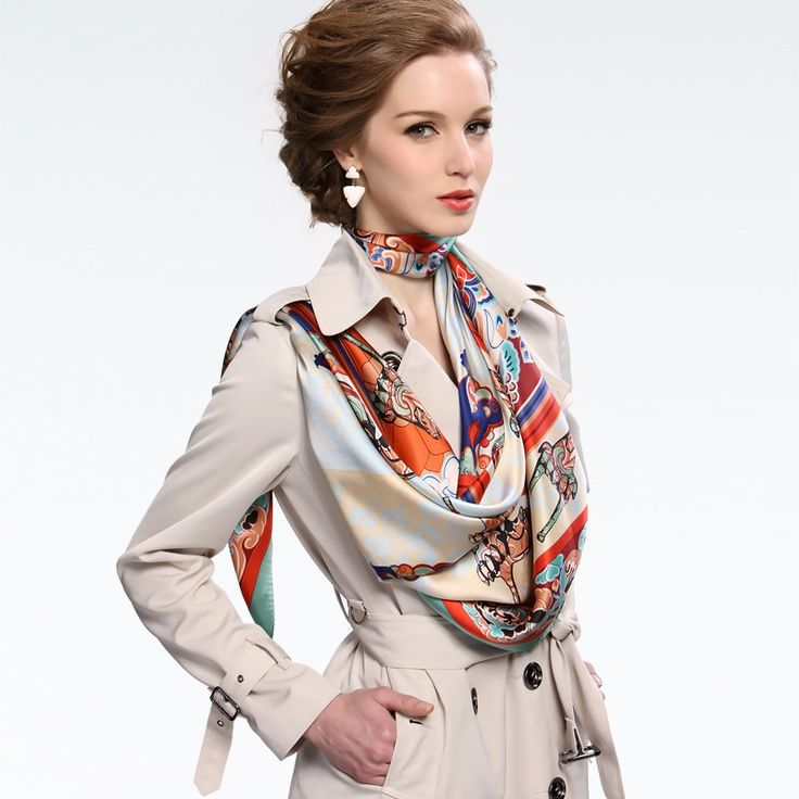 Style up Evening Wear with a Scarf