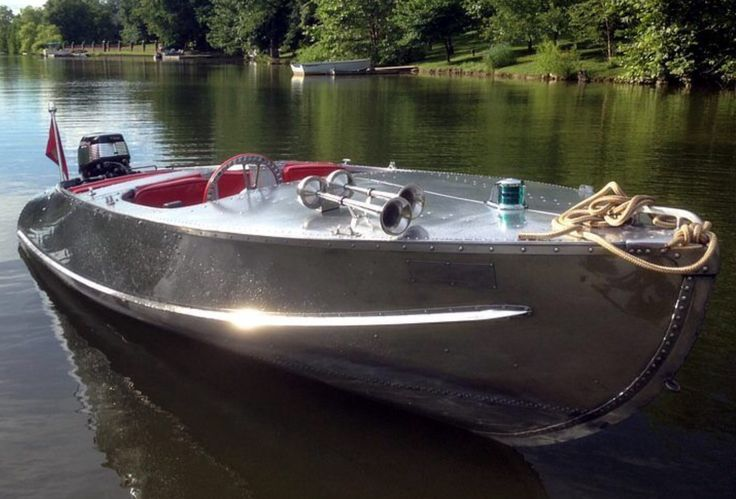 38 best Vintage Aluminum Hulls images on Pinterest | Vintage boats, Wood boats and Wooden boats
