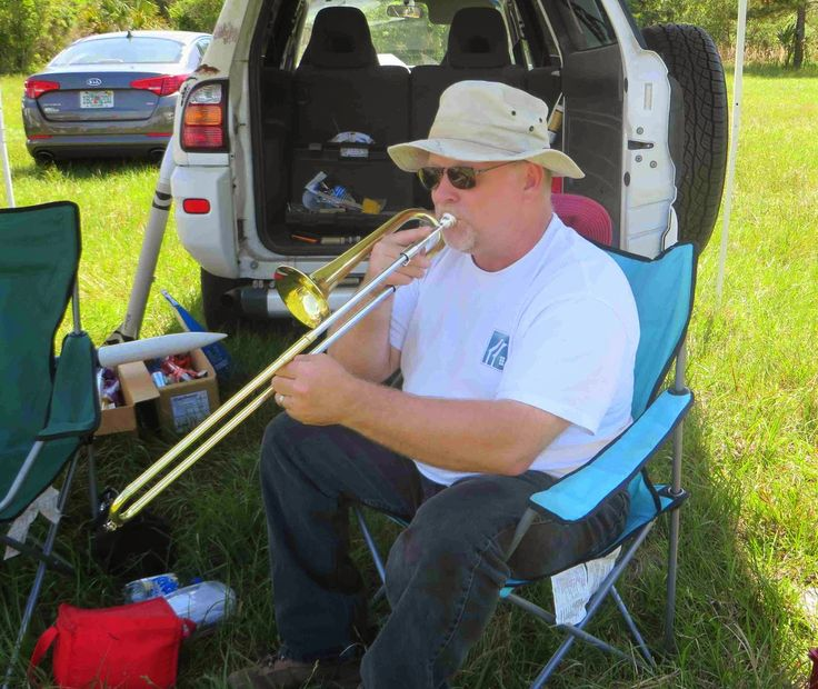 Slide trumpet