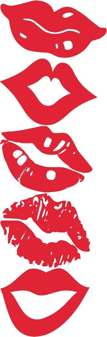 Free Printable Lips for Photo Booth.