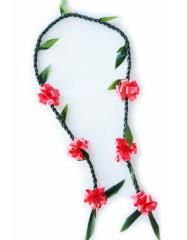 Custom Ribbon Ti Leaf Lei | Buy Graduation Leis