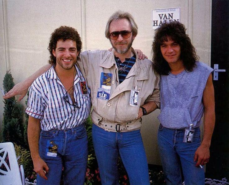 Neal Schon, John Entwistle & Edward Van Halen